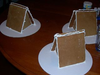 Gingerbread A-Frames